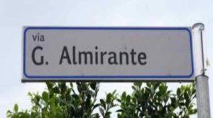 """Via Almirante. Anpi: """"Non si gioca a carte a con la Resistenza"""""""