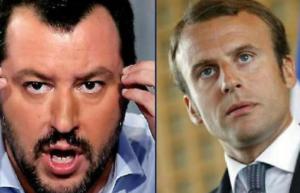 Macron sfida Salvinia chi vince le europee