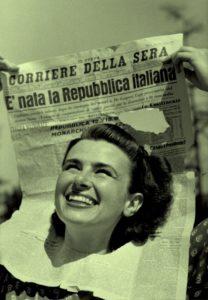 """Rete della pace: """"2 giugno,festeggiamo la Repubblica e la Costituzione. In tante piazze italiane con le bandiere della pace e cartelli con l'articolo 11"""""""