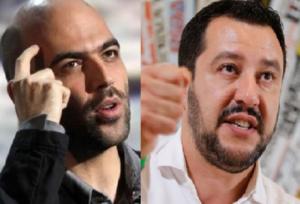 """Scorta a Roberto Saviano. Fnsi e Sugc: """"Dal ministro Salvini parole irresponsabili"""""""