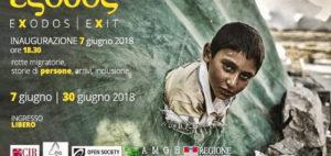 """""""Exodos – rotte migratorie, storie di persone, arrivi, inclusione"""""""