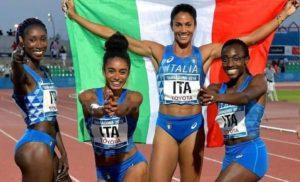 """Italia 4×400. Le ragazze che hanno colorato di azzurro il """"nostro"""" Mediterraneo"""