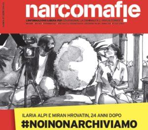 Narcomafie, un numero dedicato a Ilaria Alpi e Miran Hrovatin