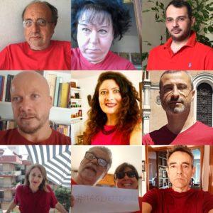 7 luglio. Una maglietta rossa per fermare l'emorragia di umanità. L'adesione di Articolo 21, Fnsi e Usigrai