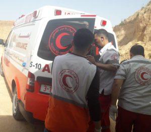La Red Crescent di Gaza chiude a causa dell'assedio israeliano