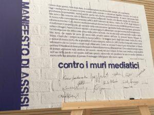 """Il 6 ottobre ad Assisi con Articolo 21. """"Le parole non sono pietre, la carta di Assisi"""""""