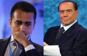 Berlusconi e Di Maio. Due forni per Salvini