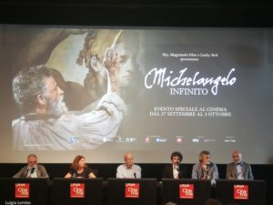 """""""Michelangelo Infinito"""" evento sul grande schermo e su Sky"""