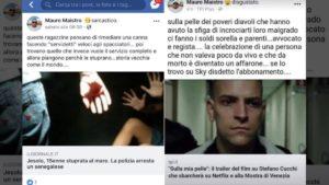 Offese a donne stuprate, ai familiari di Cucchi e agli immigrati. I post di Maistro, poliziotto in servizio