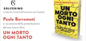 Oggi esce il primo libro di Paolo Borrometi. La presentazione ufficiale alle 18 in via Ripetta