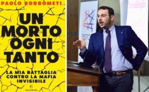 """""""Un morto ogni tanto"""", oggi a Palermo presentazione del libro di Paolo Borrometi"""