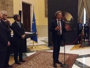 """""""La Fortuna di Dante – Manoscritti, libri, opere d'arte"""", in mostra nella sala dove nacque la Repubblica italiana"""