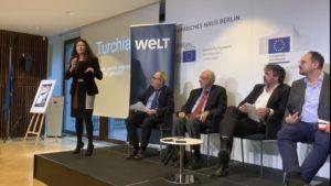 Turchia, a Berlino conferenza internazionale sulla libertà di stampa negata con Deniz Yucel. Il reportage di Antonella Napoli di Art.21 ha chiuso l'evento