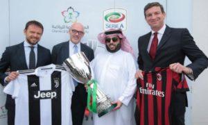Supercoppa Arabia Saudita. Lo spettacolo non deve andare avanti