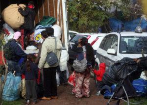 Le famiglie sgomberate dal campo de La Barbuta non trovano accoglienza