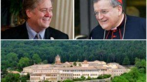 Le mani di Bannon sulla Certosa di Trisulti, il paese e le comunità solidali scendono in piazza