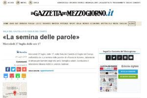 """#iostoconGazzetta e dico """"no"""" alla mafia"""