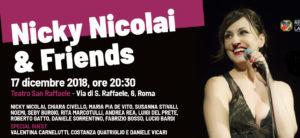 Nicky Nicolai & Friends per la Casa Internazionale delle donne. L'adesione di Articolo 21