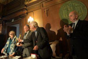 """Consegnato il """"San Giusto d'Oro 2018"""" alla Comunità ebraica di Trieste"""