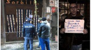 """Associazione antimafia #Noi: """"ennesimo atto di intimidazionePizzeria Sorbillo Napoli"""""""