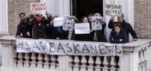 La solidarietà di Usigrai ad Askanews, stop a progetti azzeramento dell'informazione.