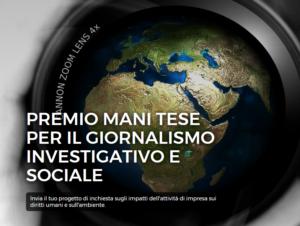 Premio giornalistico Mani Tese. Scadenza 28 febbraio