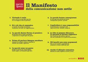 Il Comune di Occhiobello aderisce al Manifesto della comunicazione non ostile