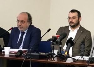 Giuseppe Giulietti e Paolo Borrometi a Trento per parlare dell'Articolo 21 della Costituzione
