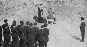 """75° anniversario della fucilazione dei due trentenni giornalisti partigiani di """"Bandiera Rossa"""""""