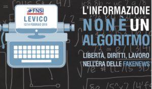 Iniziato il Congresso nazionale della Stampa italiana a Levico Terme
