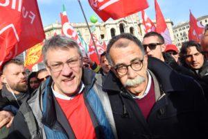 La sola opposizione al governo è di Landini
