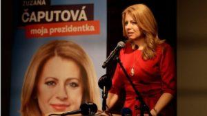 Vento di speranza dall'Est, l'europeista Caputova prima donna presidente della Slovacchia