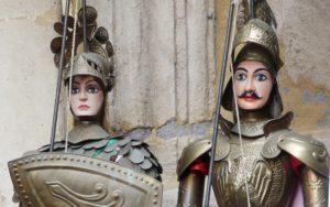 """""""Le donne, i cavallier, l'arme, gli amori…"""" con la Marionettistica dei Fratelli Napoli nello storico Teatro Machiavelli di Catania"""