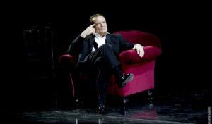 """Teatro Quirino. Massimo Ranieri ne """"Il gabbiano"""" di Cechov canta le più belle canzoni francesi"""