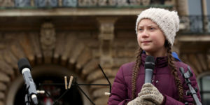 """I giornalisti con Greta: """"Non c'è lavoro in un pianeta morto"""