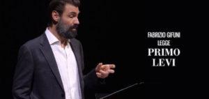 Fabrizio Gifuni legge Primo Levi
