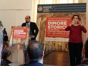 Dal 25 al 28 aprile apertura straordinaria e gratuita delle dimore storiche del Lazio