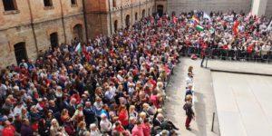 Il 25 aprile in Risiera, 300 persone dentro e 1500 in corteo
