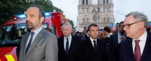 Macron.erone. Eil caso Notre Dame della Fiamme
