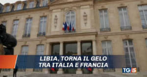"""La """"guerra civile"""" in Libia e quella diplomatica tra Roma e Parigi in cima al primetime"""