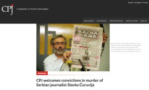 Serbia: delitto Ćuruvija, condanna storica