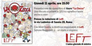 """Presentazione del nuovo libro di Vauro """"La Zecca.Una sferzata ai potenti"""". Rom, 11 aprile"""