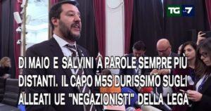 """Match per le Europee: """"in onda"""" il wrestling tra Salvini e Di Maio"""