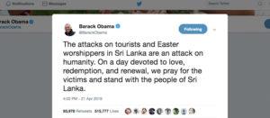 Le polemiche sul Tweet di Obama e l'identitarismo esasperato
