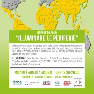 """""""Illuminare le periferie"""" al Festival dei Diritti Umani"""