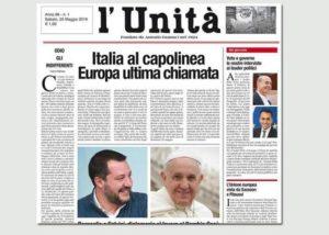 ControCorrente Lazio con i giornalisti dell'Unità: affidarla a Maurizio Belpietro è un affronto alla storia del quotidiano fondato da Antonio Gramsci