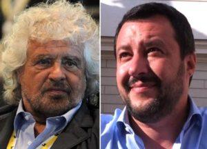 """Grillo scaricaa """"calci"""" Salvini"""