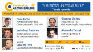 Formazione a Chioggia: Giulietti presenta il Manifesto di Assisi