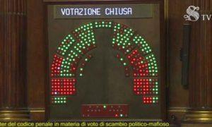 Voto di scambio, riforma a rischio di incostituzionalità