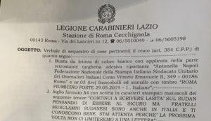 Nuove minacce da islamisti a Antonella Napoli. Solidarietà di Articolo 21 e Fnsi